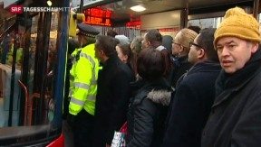 Video «U-Bahn-Streik in London» abspielen