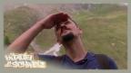 Video «Kopf einziehen! Der Bartgeier fliegt über uns» abspielen
