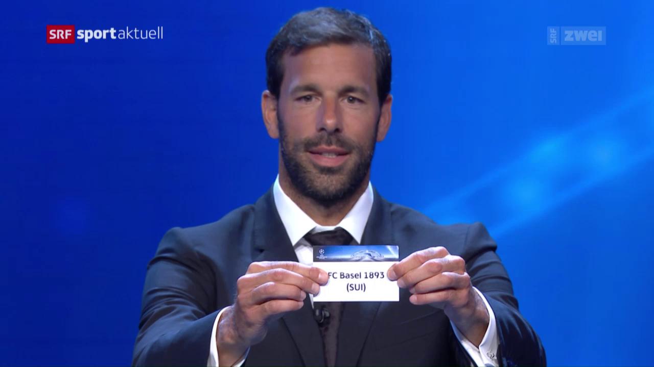CL-Auslosung mit dem FC Basel