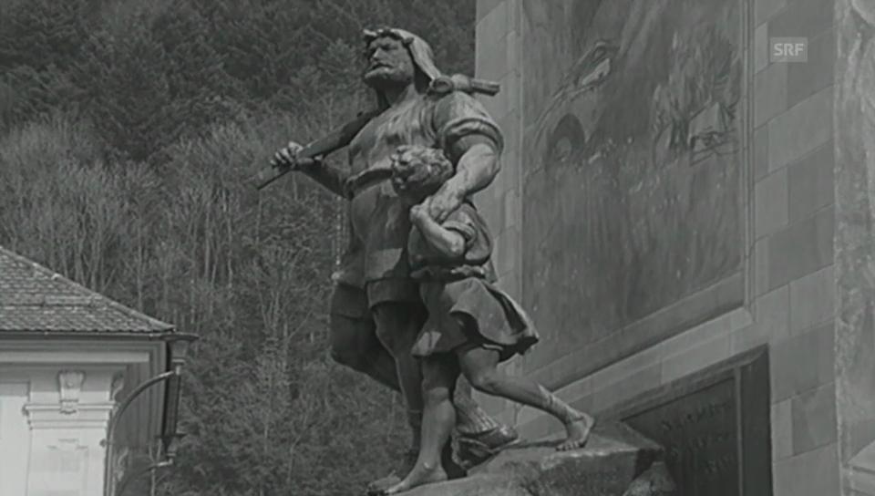 Tell-Denkmal soll weg (Antenne 1970)