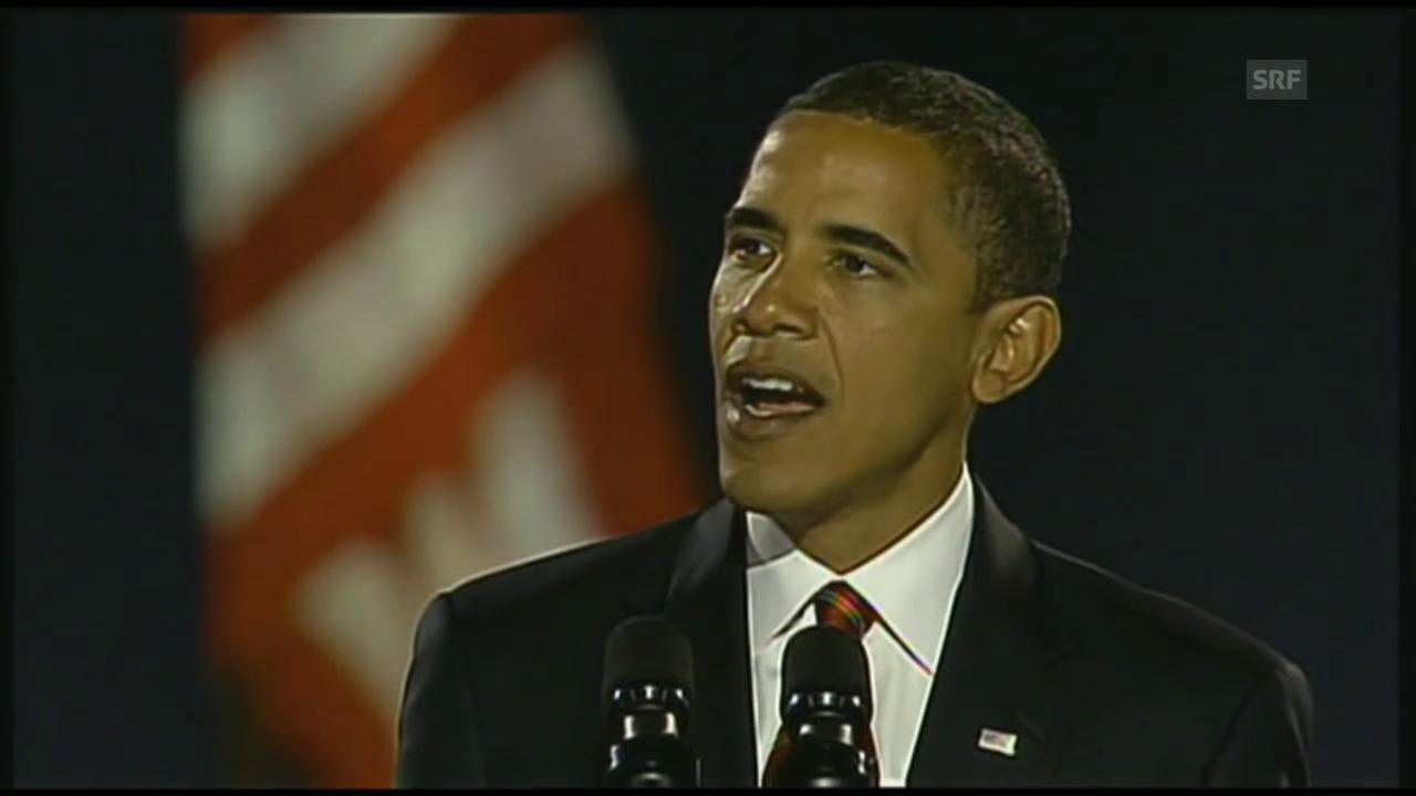 Obama's Rede anlässlich seines Wahlsiegs 2008