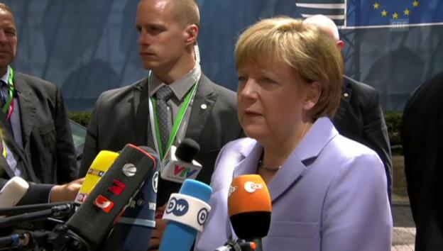 Video «Angela Merkel: «Noch nicht notwendigen Fortschritt gemacht»» abspielen