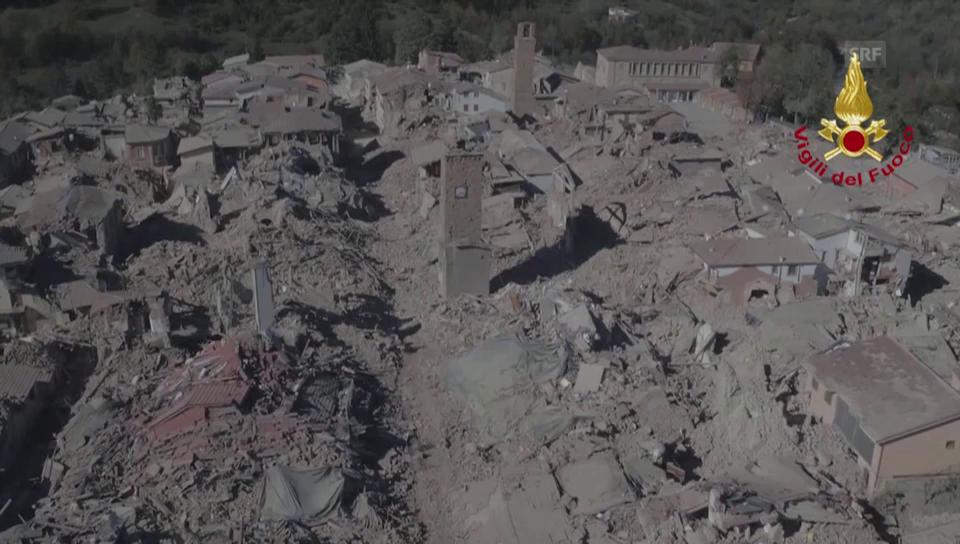 Archiv: Die Ruinen von Amatrice