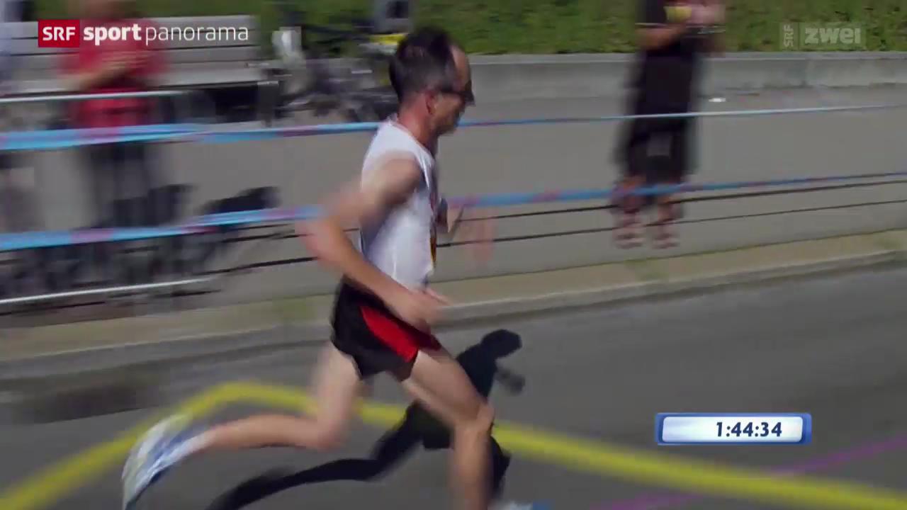 Leichtathletik: Der EM-Marathon der Männer
