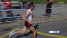 Video «Leichtathletik: Der EM-Marathon der Männer» abspielen