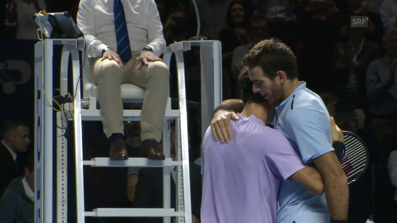 Livehighlights Federer - Del Potro