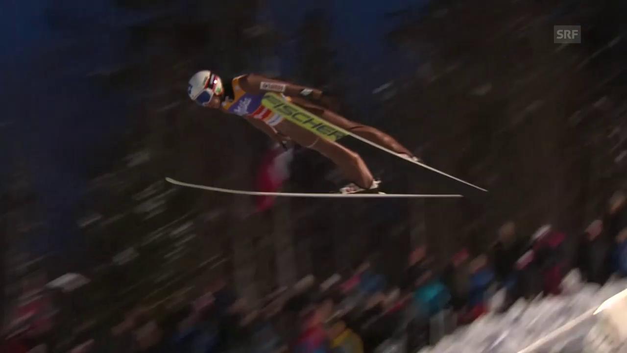 Stoch segelt in Lillehammer allen davon
