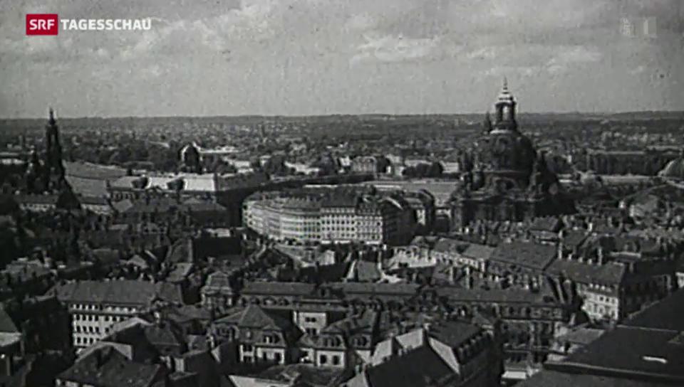 Ausstellung zur Bombardierung Dresdens