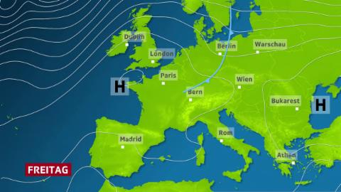 Wetterlage Europa