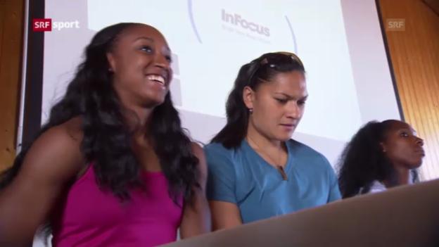 Video «Leichtathletik: Brianna Rollins' Europa-Premiere in Luzern («sportaktuell»)» abspielen