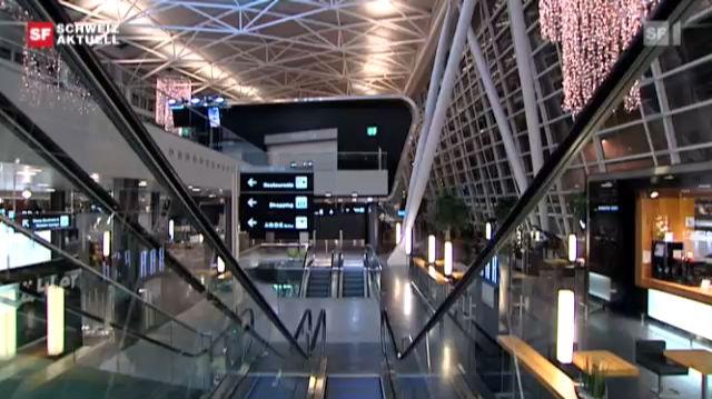 Nachtarbeit am Flughafen