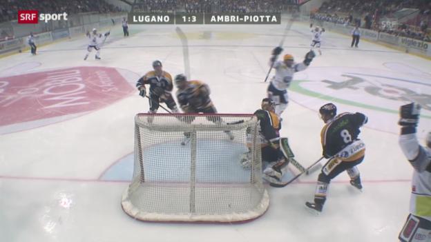 Video «Lugano - Ambri» abspielen