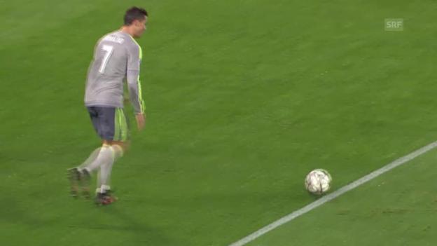 Video «Ronaldo widerlegt seine Auswärtsschwäche in Rom» abspielen