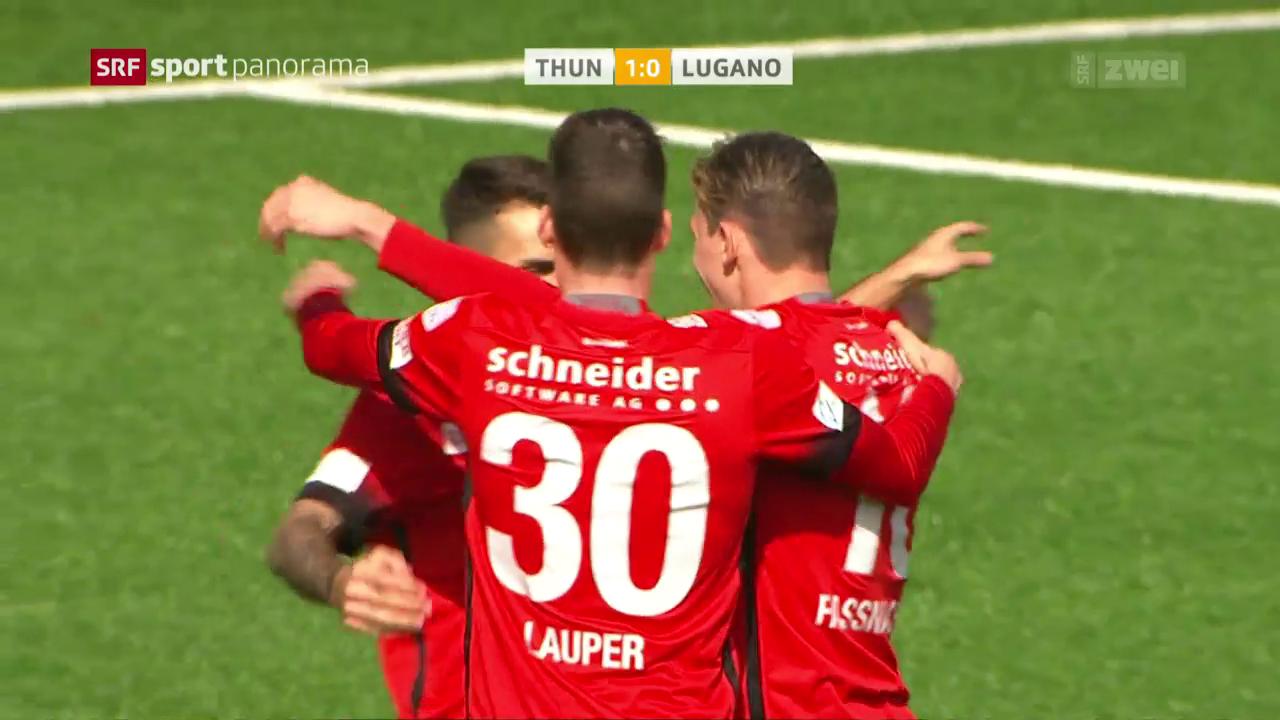 Thun lässt Lugano keine Chance