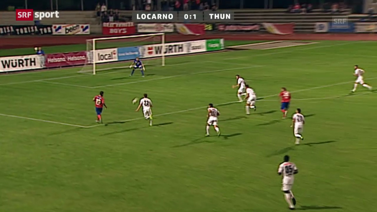 Cup: Locarno - Thun