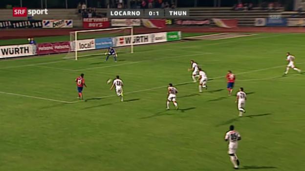 Video «Cup: Locarno - Thun» abspielen