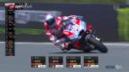 Video «Dovizisio fährt in Brünn auf die Pole Position» abspielen