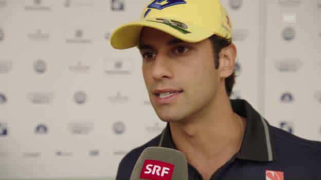 Video «Sauber vor dem GP in Bahrain» abspielen