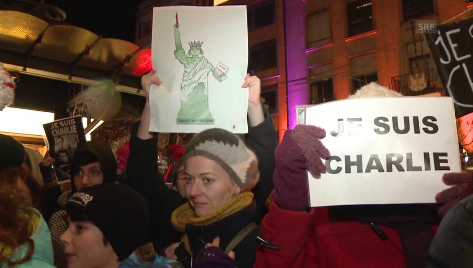 Solidaritätskundgebung in Neuenburg