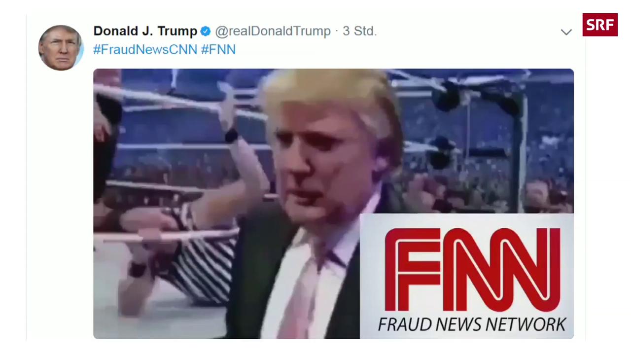 CNN verurteilt Trumps Gewaltverherrlichung