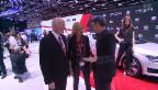 Video «Autosalon Genf: Was die prominenten Werbeträger verdienen» abspielen
