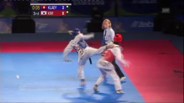 Video «Kläys Halbfinal-Niederlage (Quelle: EVS, unkommentiert)» abspielen