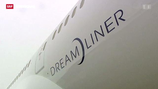 Flugverbot für Boeings «Dreamliner»