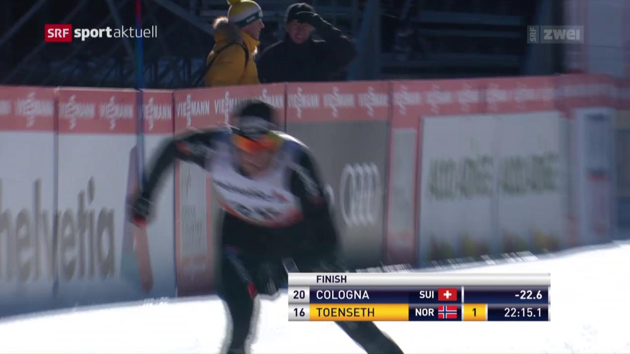 Cologna macht eine Position gut