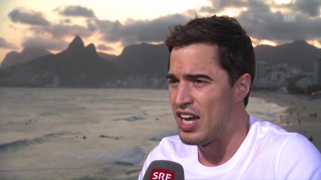 Video «Max Heinzer: «Kann nicht taktieren»» abspielen