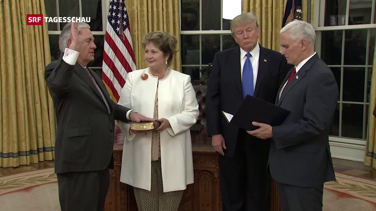 Trump feuert Aussenminister Tillerson