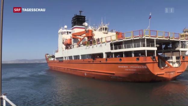 Video «Antarktis-Expedition unter Schweizer Leitung» abspielen