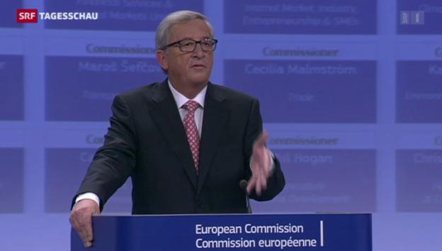Video «Juncker präsentiert seine Minister» abspielen