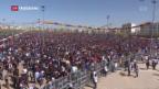 Video «Kurden-Festtag im Zeichen der Opfer von Afrin» abspielen