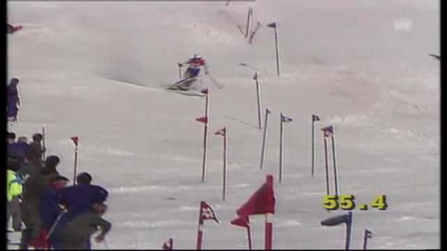 Ski-WM 1991: Vreni Schneider holt Slalom-Gold