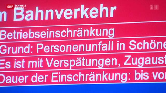 SBB-Nadelöhr Schönenwerd