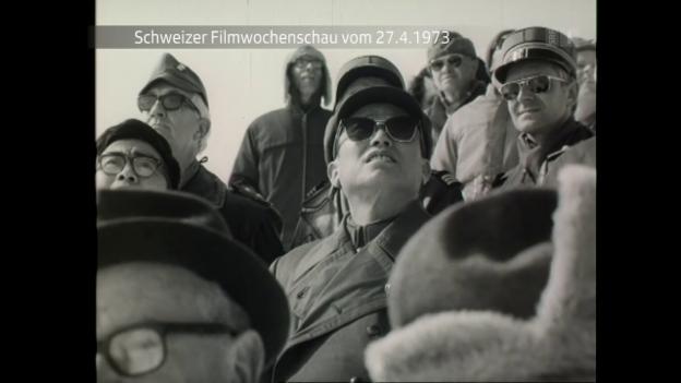 Video «Schweizer Filmwochenschau vom 27.4.1973» abspielen