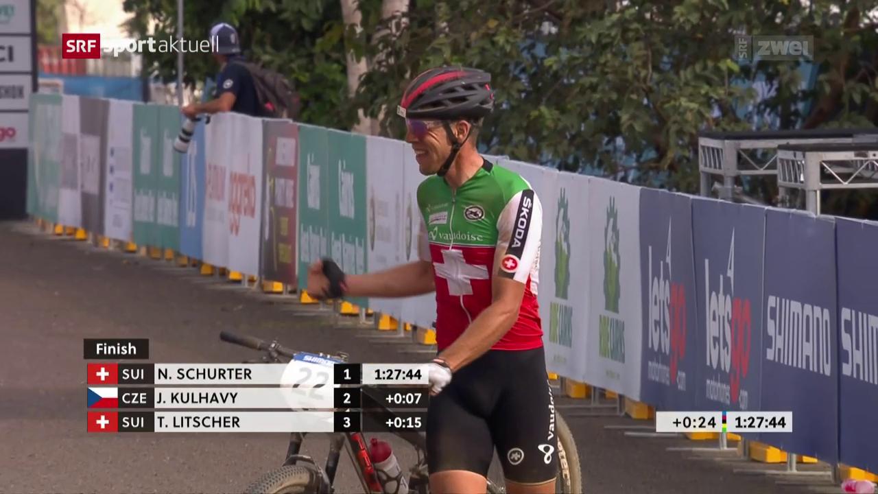 Thomas Litscher, Mountainbiker aus Leidenschaft