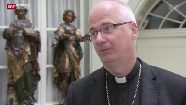 Video «Bischof nimmt zum «Fall Bürglen» Stellung» abspielen