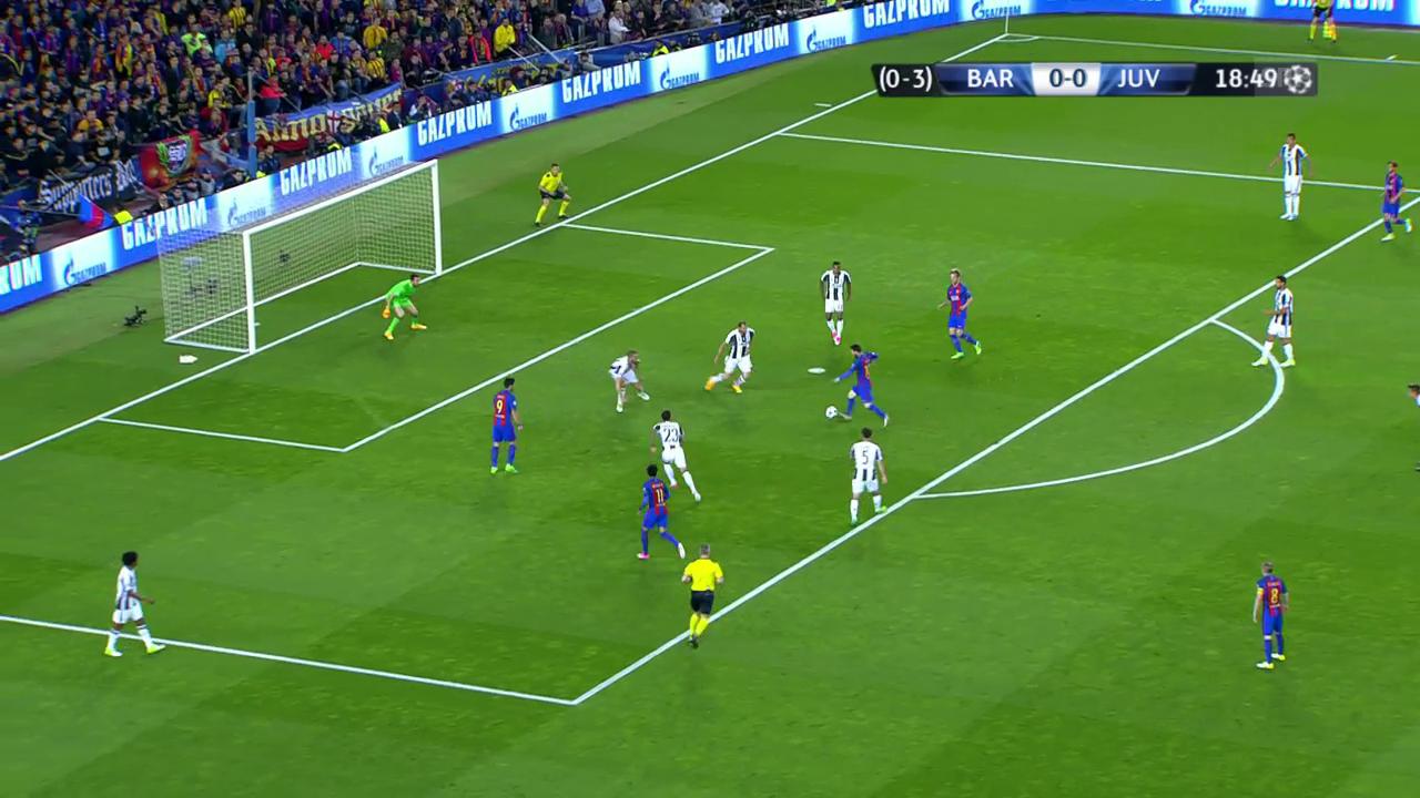 Die grosse Chance von Lionel Messi