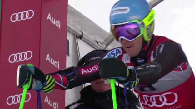 Video «Ski alpin: Der 1. Lauf von Ted Ligety («sportlive»)» abspielen