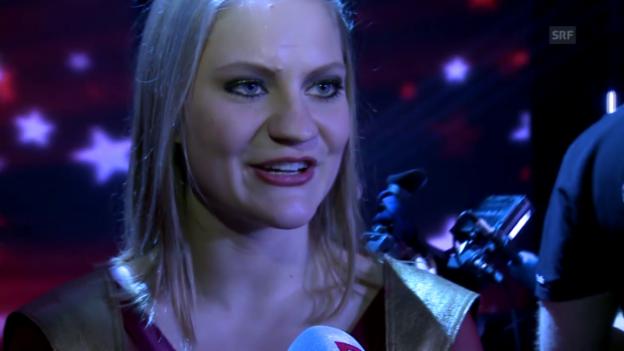 Video «Nora Zoller über ihre Finalqualifikation» abspielen