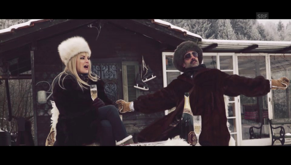 Chic im Schnee: SRF