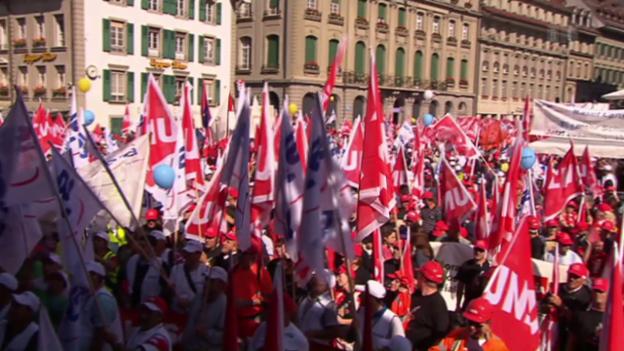 Video «Gefeuerte Gewerkschafter: Die Unia-Recherche» abspielen