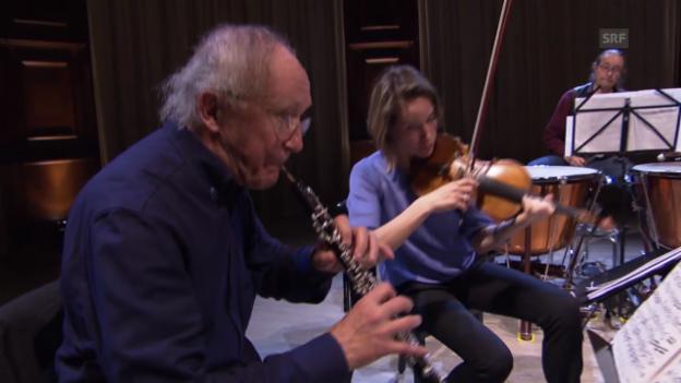 Video «Heinz Holliger fusioniert» abspielen