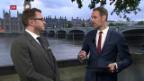 Video «FOKUS: Einschätzungen aus London – Brexit» abspielen