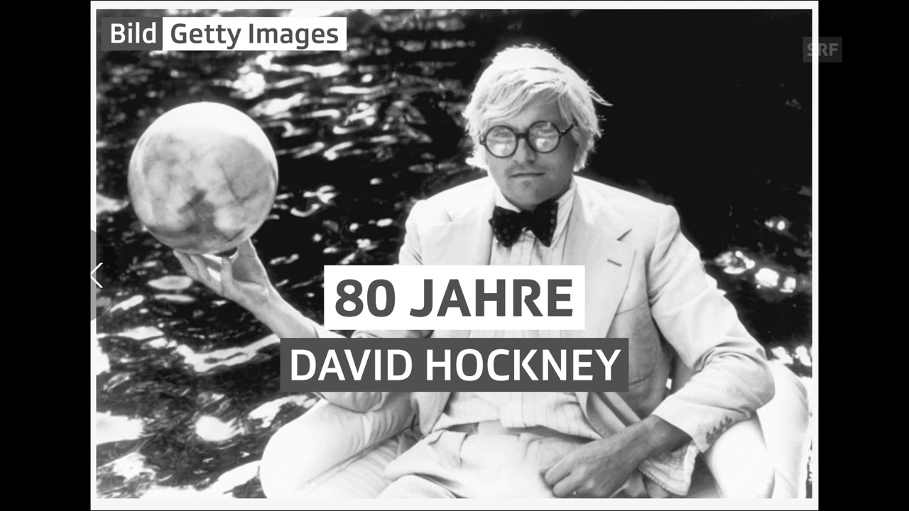 Alles Gute, David Hockney
