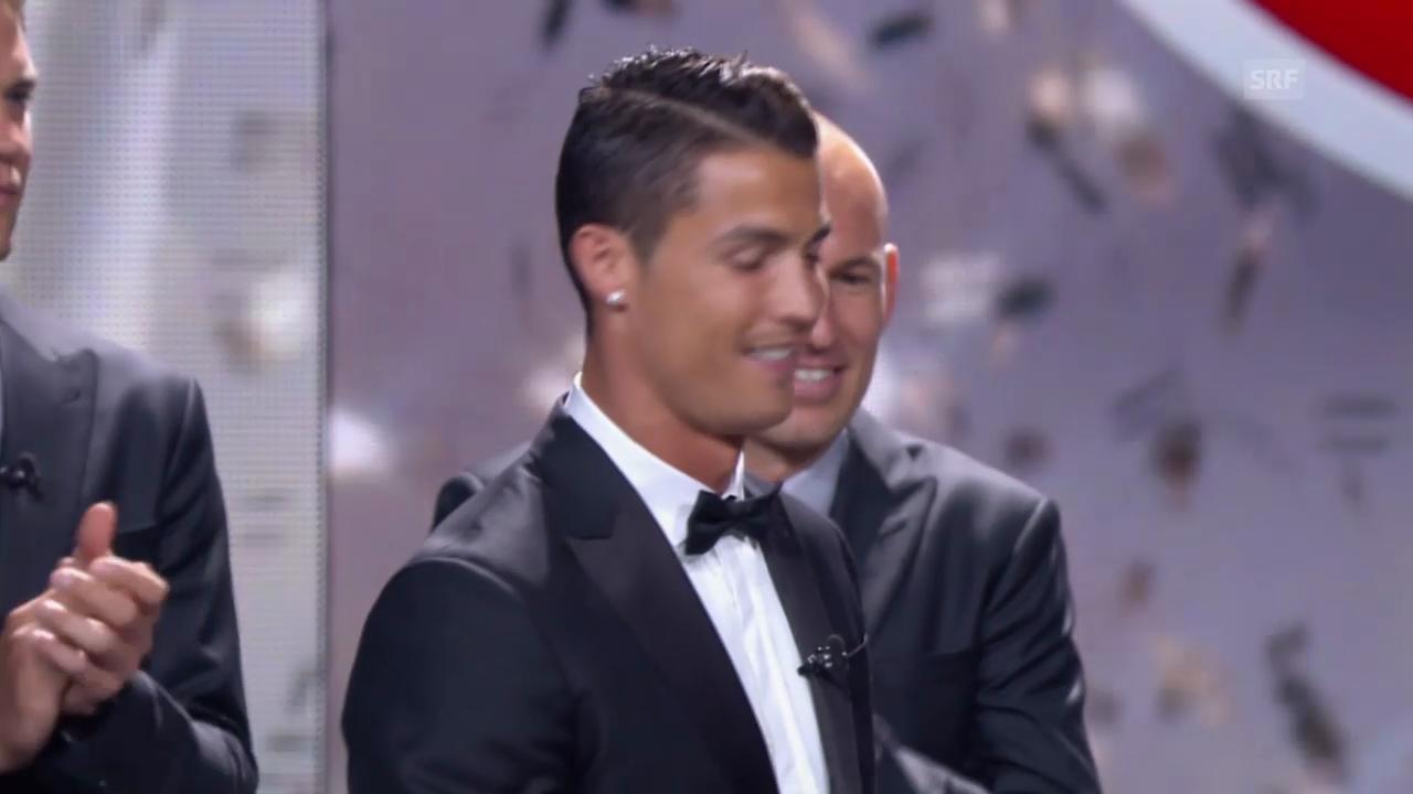 Fussball: Cristiano Ronaldo ist Europas Fussballer des Jahres