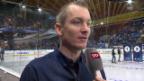 Video «Eishockey: Spengler Cup, Penalty Checker, Puck aus dem Spielfeld» abspielen