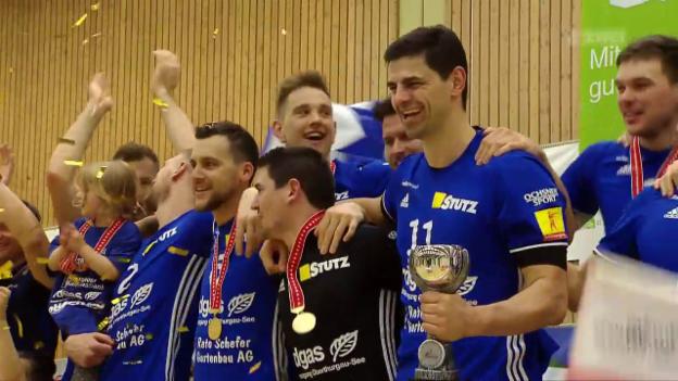 Video «Amriswil nutzt gegen Näfels den 1. Matchball» abspielen