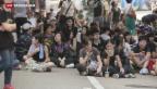 Video «Hongkonger Protest geht im Kern weiter» abspielen